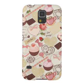 Romantic Roses and Dessert Galaxy S5 Cover
