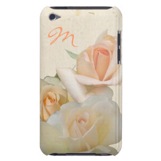 Romantic Roses and Monogram iPod Touch Case
