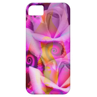 Romantic Roses and Swirls iPhone 5 Covers