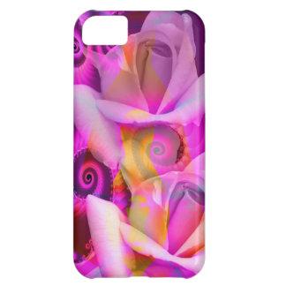 Romantic Roses and Swirls iPhone 5C Cover