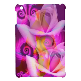 Romantic Roses and Swirls Case For The iPad Mini