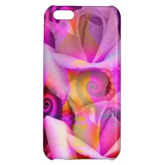 Romantic Roses and Swirls iPhone 5C Cases