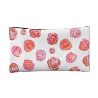 Romantic Roses, Chic Makeup/Cosmetic Bag Makeup Bags