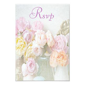 Romantic Roses in Jars Rsvp 9 Cm X 13 Cm Invitation Card
