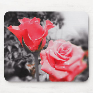 Romantic Roses Mouse Pad