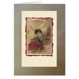 Romantic Roses Note Card