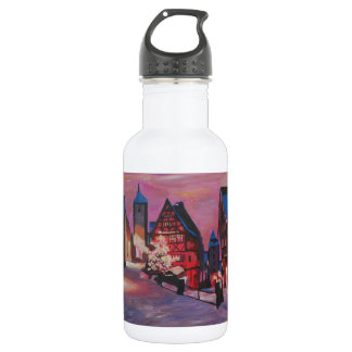 Romantic Rothenburg Tauber Germany in winter 532 Ml Water Bottle