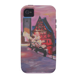 Romantic Rothenburg Tauber Germany in winter iPhone 4/4S Cases