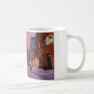 Romantic Rothenburg Tauber Germany in winter Mugs