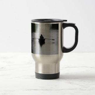 Romantic Rowboat Stainless Steel Travel Mug