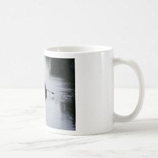 Romantic Rowboat Basic White Mug
