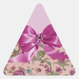 Romantic Ruby Triangle Sticker