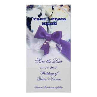 Romantic Save the Date Card