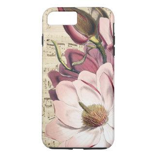 Romantic Shabby Magnolia iPhone 7 Plus Case