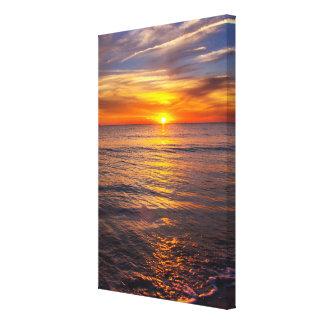 Romantic sunset canvas  24x36 canvas print