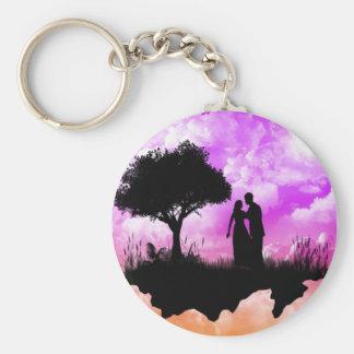 Romantic Sunset Keychain