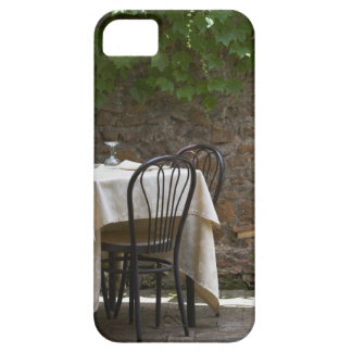 romantic table for two iPhone 5 cover