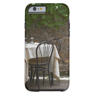 romantic table for two tough iPhone 6 case