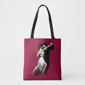 Romantic Tango Dancers Tote Bag