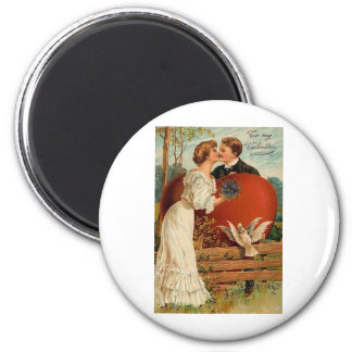 Romantic To My Valentine 2 Refrigerator Magnet