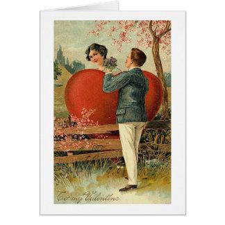 Romantic To My Valentine Card