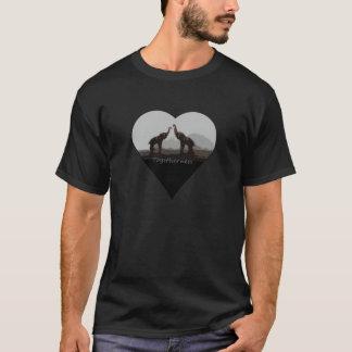 Romantic Togetherness Elephant T-shirt