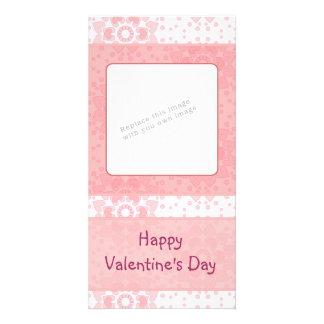 Romantic Valentine heart design Photo Cards