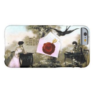 ROMANTIC VALENTINE LETTER ,RED WAX SEAL BARELY THERE iPhone 6 CASE