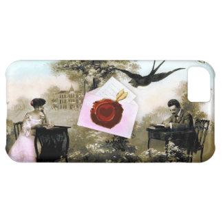 ROMANTIC VALENTINE LETTER ,RED WAX SEAL iPhone 5C CASE