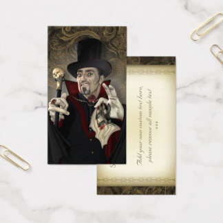 Romantic Vampire Business Card