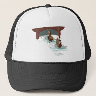 Romantic Venice Gondolas Trucker Hat