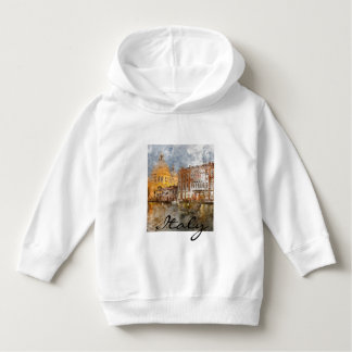 Romantic Venice Italy Grand Canal Hoodie