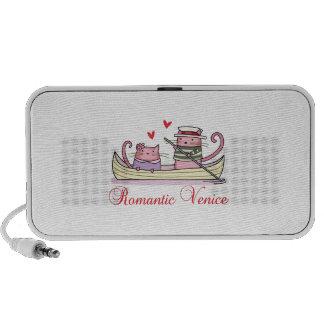 Romantic Venice Laptop Speakers