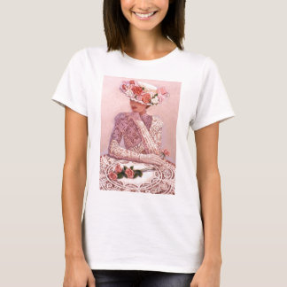 Romantic Victorian Lady T-Shirt
