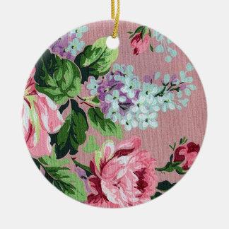 Romantic Victorian Rose Ornament