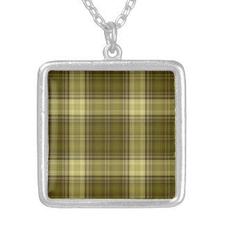 Romantic Vigorous Tops Achievement Square Pendant Necklace