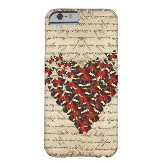 Romantic Vintage butterfies Barely There iPhone 6 Case