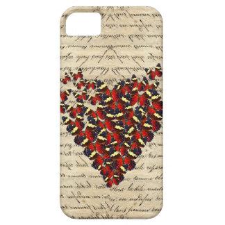 Romantic Vintage butterfies iPhone 5 Cases