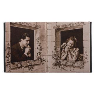 Romantic Vintage Couple, Sepia Photograph iPad Cases