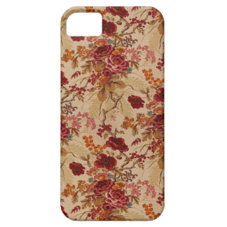 Romantic Vintage red Roses Case For The iPhone 5