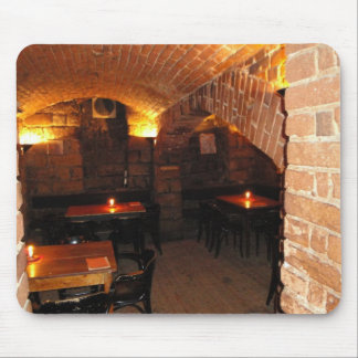 Romantic Wine Cellar Mouse Mat
