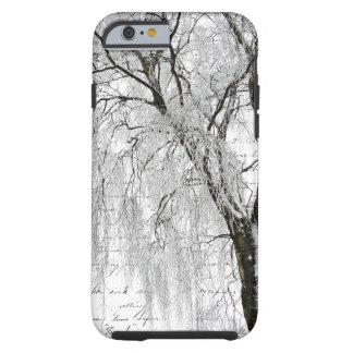 Romantic Winter Willow Tough iPhone 6 Case