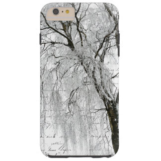 Romantic Winter Willow Tough iPhone 6 Plus Case