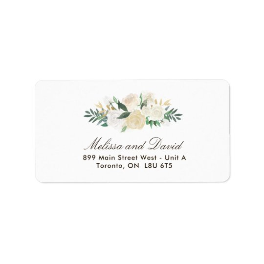Romantic Woodland Address Labels