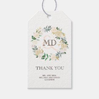 Romantic Woodland Wedding Favor Gift Hang Tag