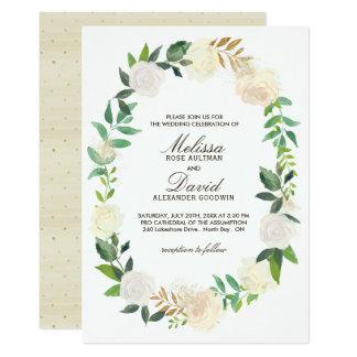 Romantic Woodland  Wedding Invitations