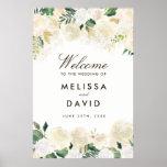 Romantic Woodland Wedding Welcome Sign (24x36)