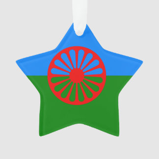 Romany Gypsy flag Ornament