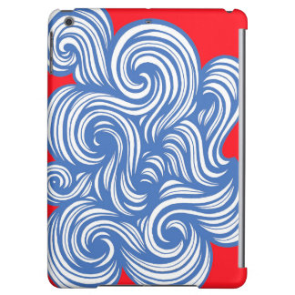 Romash Abstract Expression Red Blue
