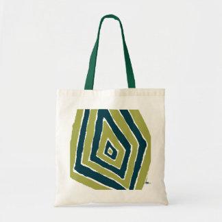Romboidal verde. Bag